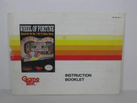 Wheel of Fortune - NES Manual
